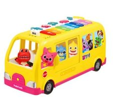 Pinkfong Singing Piano Bus Melody Toy Korean English Songs For Baby Infant Kids