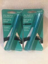 "Lot Of 2 ALMAY ""Get Up & Grow"" Mascara 010 Blackest Black"