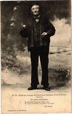 CPA  M.Ch.Gohel en costume de Cultivateur Normand(Val-de-Saire),chantant(245831)