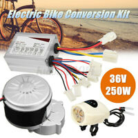 36V 250W Electric Bike Conversion Kit Motor Controller Set For 22-28'' Bicycle