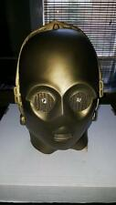 Original c1977 Star Wars Don Post C3PO Rubber Mask Early RARE #Wo2