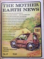 Vintage Mother Earth News Sept 1975, Wood Burning Refrigerator