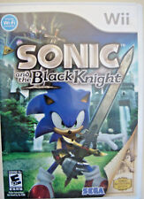 Sonic and the Black Knight (Nintendo Wii, 2009) GAME DISC & CASE