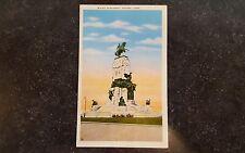 Vintage Postcard Maceo Monument Havana Cuba