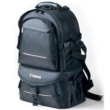 Professional Waterproof Dslr Camera Backpack Padded Bag Daypack + Rain Cover New