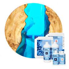 Resina Epossidica Cristallo Turchese per legno, DIY, bricolage e fai-da-te
