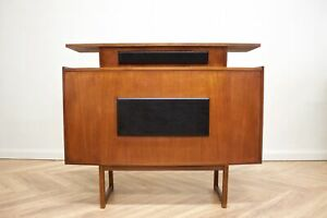 DELIVERY£60 Mid Century Teak Home Cocktail Bar Drinks Cabinet
