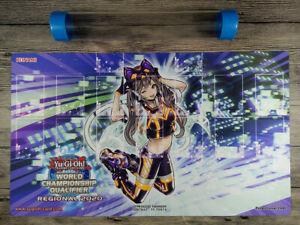 Yu-Gi-Oh! I:P Masquerena New Card zones TCG Custom WCQ Playmat Free Best Tube