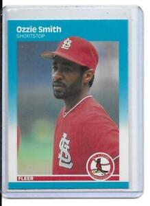 1987 Fleer Ozzie Smith (1467)