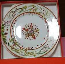 Hermes Porcelain Pythagore Dinner Plate Tableware Berry Ornament Auth New 11 in