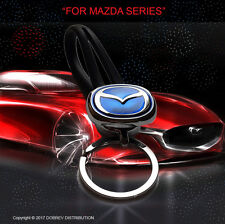 MAZDA Key Chain Key Ring Holder Hot LOGO Sale Car Emblem HOLDER