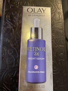 Olay Regenerist Retinol 24 Night Facial Serum - 1.3oz