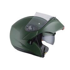 Agv helmet casque casco Compact ST modulare verde militare opaco pinlock 2017