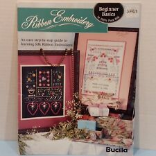 Ribbon Embroidery Step by Step Guide To Silk Ribbon 20 Patterns Projects Crafts