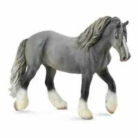 COLLECTA Animal Figurine – Shire Horse Mare - Grey #88574