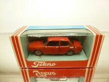TEKNO DENMARK 837 SAAB 99 - 1968 - RED 1:43 - GOOD CONDITION IN BOX