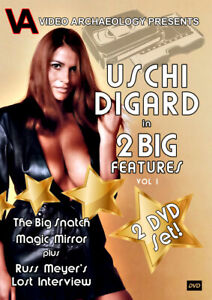 70's Retro Pin-Up Uschi Digard 2 Color Features w/ Lost Russ Meyer Interview