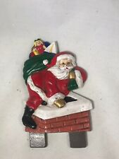 Midwest Of Cannon Falls Santa Claus Cast Iron Door Knocker Topper