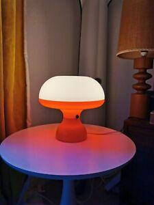 Rare 70s Space Age mushroom Lamp By C.N. Burnham Vintage Retro Guzzini Era