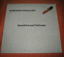 """Stephen Schlaks Lp """" SENSITIVE AND DELICATE """" Baby / Italy / 1979"""