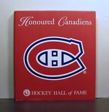 Honoured Montreal  Canadiens in the NHL and  Hockey Hall of Fame