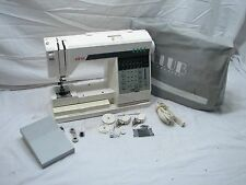 Elna Club Computer Sewing Machine Electric Digital Swiss w/Accessories
