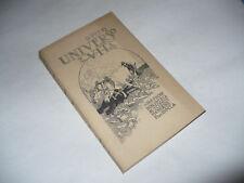 BIBLIOTECA SCIENZE MODERNE N.368 F.LLI BOCCA PETRI UNIVERSO E VITA 1928