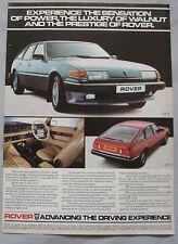 1982 Rover SD1 Original advert