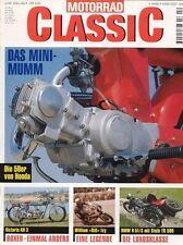 MC9802 + TRIUMPH Trident Renner + Siegfried Wünsche + MOTORRAD CLASSIC 2 1998