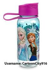 Disney Store Frozen Elsa Anna Water Bottle New