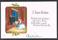 Vintage Christmas Postcard No. C-311