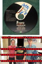 "FRANZ FERDINAND signed ""TAKE ME OUT"" CD SINGLE - PROOF - Alex Kapranos & Bob"