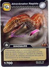 Carte DINOSAUR KING Attaque Alpha AFROVENATOR RAPIDE DKAA 038/100