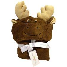 Animal Hooded Bath Towel, Beach Towel, Kids Toddlers Baby - Moose