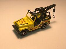 majorette jeep shell garage