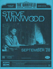 Steve Winwood Warfield San Francisco 2003 Flyer Blue