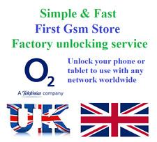 O2 Unlocking Service Apple iPhone & iPad Unlock code Samsung Sony Huawei Google