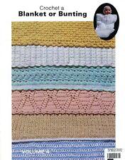 La Fon Volume 4: Crochet A Blanket or Bunting & Booties Vintage Pattern Booklet