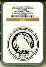 2003 S$5 Australia Kookaburra & Waratah Colorized NGC PF63 Ultra Cameo
