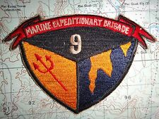 Vietnam War Patch USMC MARINE EXPEDITIONARY BRIGADE 9
