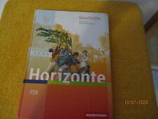 HORIZONTE 7/8 Geschichte Schülerbuch gebundene Ausgabe ISBN: 9783141120752