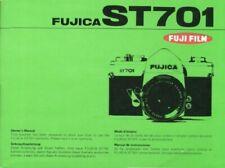 Fuji Fujica ST701 Instruction Manual original multi-language
