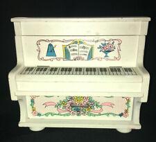 Vintage, Jewelry, Wood Piano Style Music Box, Plays Lara's Theme