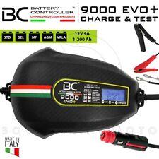 MANTENITORE DI CARICA BATTERIE BC 9000 EVO+ 12V 200AH AUTOMATICO MOTO AUTO