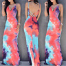 Women Sexy Sleeveless Party Evening Cocktail Summer Beach Maxi Dress