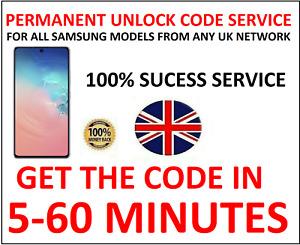 Unlock Code For Samsung Galaxy S7 Edge S6 S5 Neo A5 A3 UK Vodafone O2 EE Tmobile