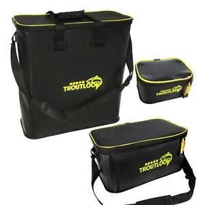 Troutlook Forellentaschen Systemtaschen Angeltasche 3 Größen Wasserdicht EVA
