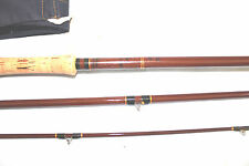 "12'-6"" McHardys of Carlile the Thunder & Lightning  3 p Salmon fly fishing rod"