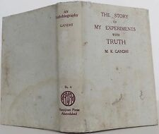 MAHATMA GANDHI The Story of My Experiments with Truth FIRST EDITION