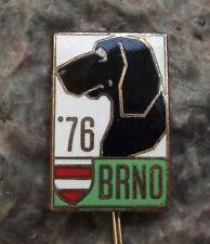 1976 International Dog Breeders Club Show Event Brno Pointer Breed Pin Badge
